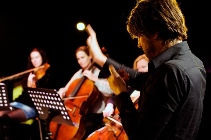 Peter conducting